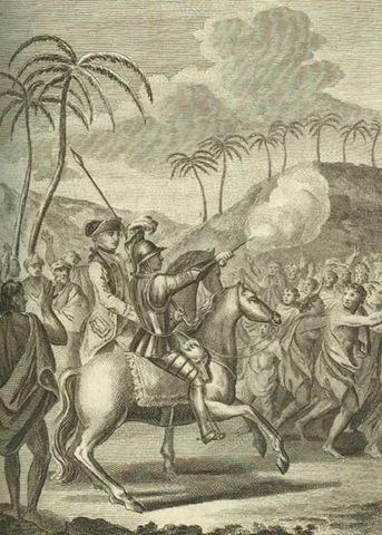 02_Polynesia Francesa | Hauhini | James Cook and Omai 1777 - 2